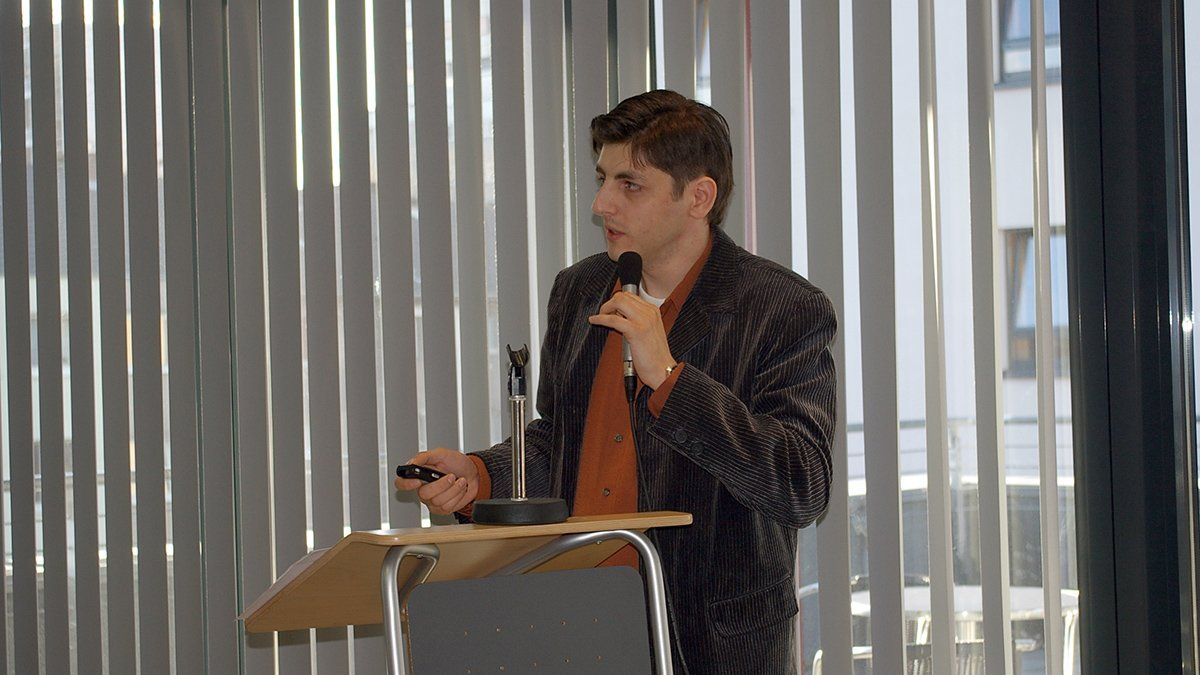 Marco Di Bella auf dem 7. Symposium des Pflegerechts.